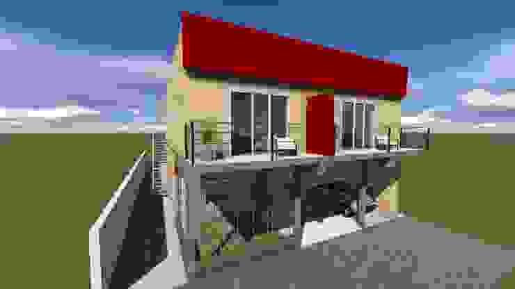 โดย GM Arquitectura&Construcción โมเดิร์น