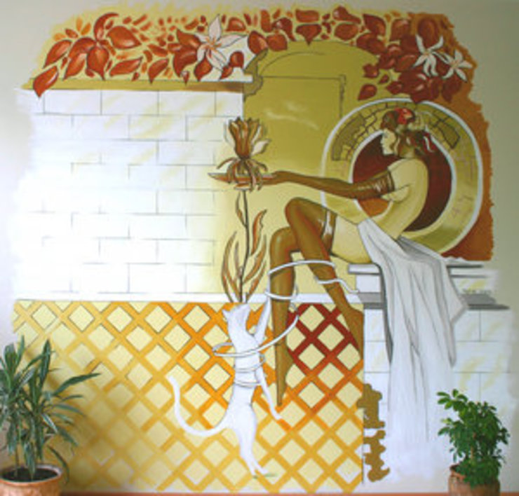 duvar resmi İSTANBUL TASARIM FABRİKASI Asyatik