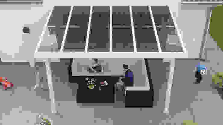 Solar Terrassenüberdachung Aluminium:   von Solarterrassen & Carportwerk GmbH,