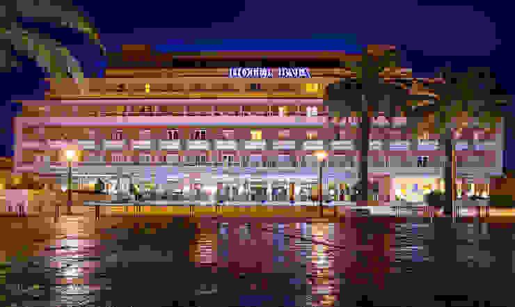 Fachada Principal Hotéis mediterrânicos por Pedro Brás - Fotógrafo de Interiores e Arquitectura | Hotelaria | Alojamento Local | Imobiliárias Mediterrânico