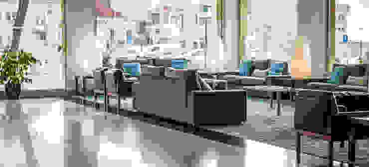 Lobby - Zona de Lazer na Entrada Hotéis mediterrânicos por Pedro Brás - Fotógrafo de Interiores e Arquitectura | Hotelaria | Alojamento Local | Imobiliárias Mediterrânico