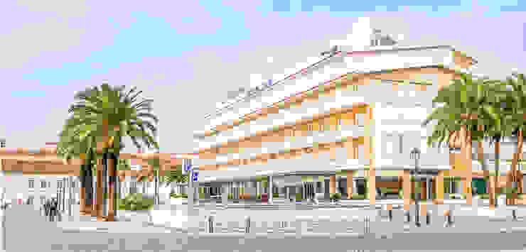 Fachada Exterior Hotéis mediterrânicos por Pedro Brás - Fotógrafo de Interiores e Arquitectura | Hotelaria | Alojamento Local | Imobiliárias Mediterrânico