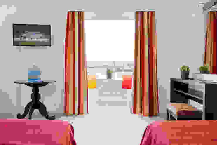 Quarto Vista Frente Hotéis mediterrânicos por Pedro Brás - Fotógrafo de Interiores e Arquitectura | Hotelaria | Alojamento Local | Imobiliárias Mediterrânico