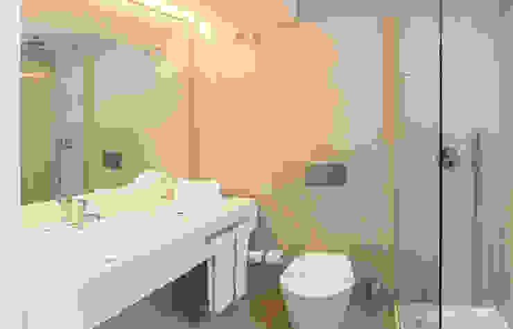 Casa de Banho Hotéis mediterrânicos por Pedro Brás - Fotógrafo de Interiores e Arquitectura | Hotelaria | Alojamento Local | Imobiliárias Mediterrânico