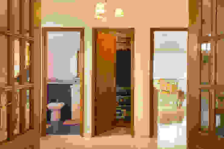 Hall Corredores, halls e escadas mediterrânicos por Pedro Brás - Fotógrafo de Interiores e Arquitectura | Hotelaria | Alojamento Local | Imobiliárias Mediterrânico