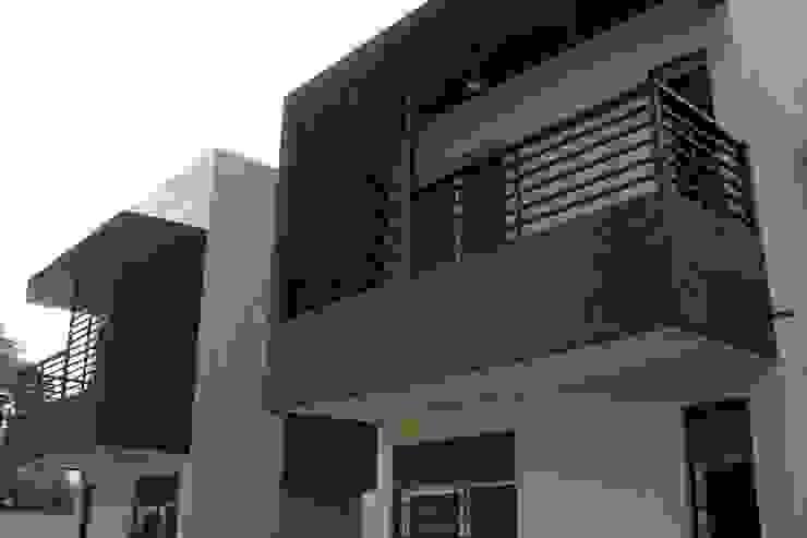 Viviendas  - Duplex: Casas de estilo  por Alejandro Acevedo - Arquitectura,Minimalista Contrachapado