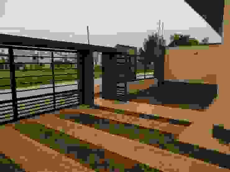 Viviendas – Duplex Casas minimalistas de Alejandro Acevedo - Arquitectura Minimalista Contrachapado