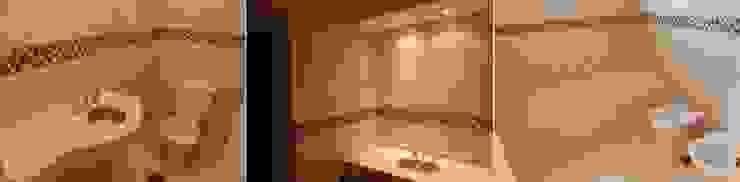 Viviendas – Duplex Baños modernos de Alejandro Acevedo - Arquitectura Moderno Azulejos