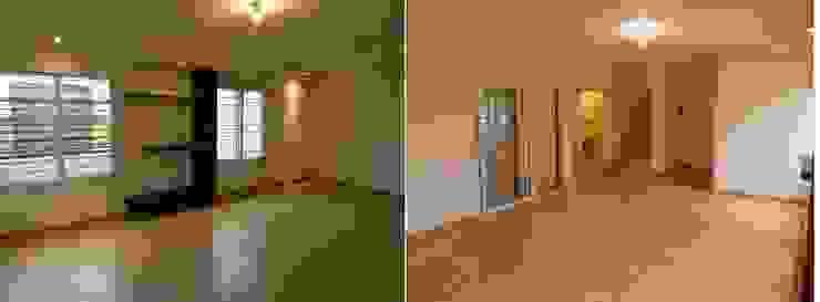 Viviendas – Duplex Comedores modernos de Alejandro Acevedo - Arquitectura Moderno Contrachapado