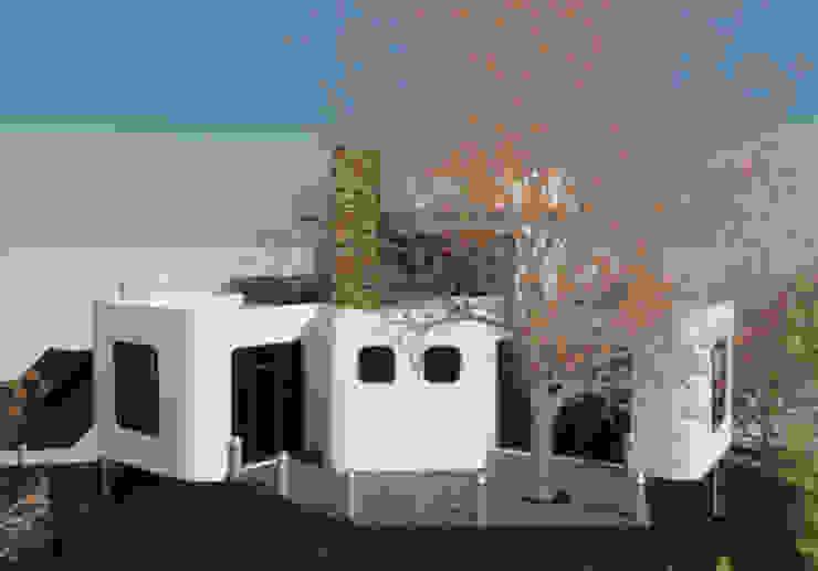 Fachada Lateral Derecha Casas de estilo minimalista de Bioarke Construcciones C.A. Minimalista Aglomerado