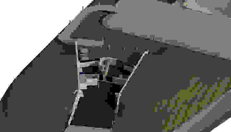 Sótano / Estacionamiento. Oficinas de estilo minimalista de Bioarke Construcciones C.A. Minimalista Aglomerado
