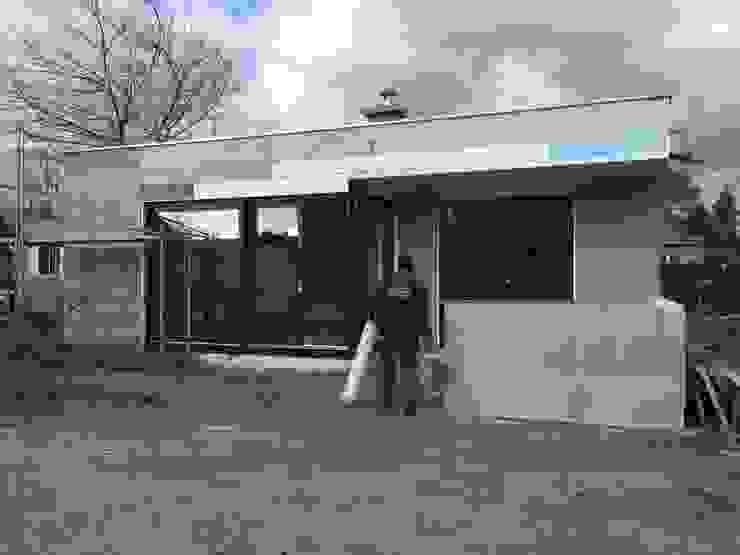 Moderner Bungalow mit Keller im Bauhausstil Massivhaus - BB - Bau GmbH Moderne Häuser