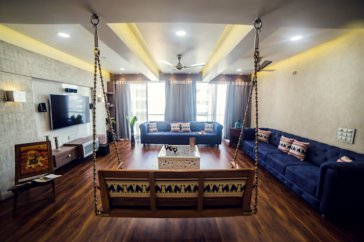 Cozy House Classic style living room by Intraspace Classic