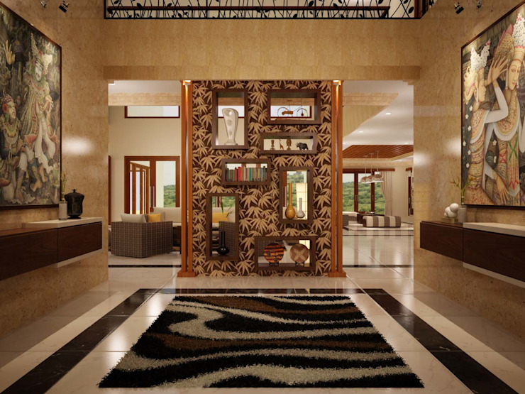 Paisajismo de interiores de estilo  por EMG Mimarlik Muhendislik Proje Çanakkale 0 286 222 01 77