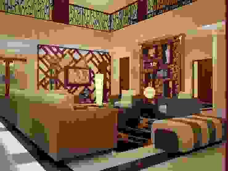 Living room by EMG Mimarlik Muhendislik Proje Çanakkale 0 286 222 01 77