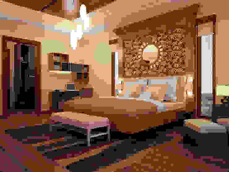 Bedroom oleh EMG Mimarlik Muhendislik Proje Çanakkale 0 286 222 01 77
