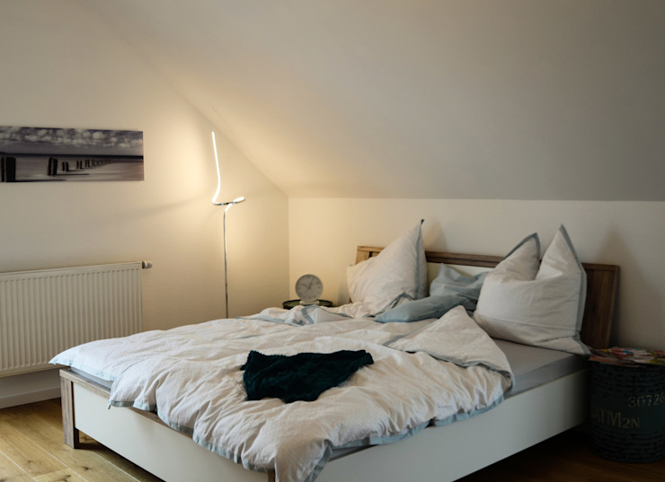 Спальня в стиле модерн от Skapetze Lichtmacher Модерн