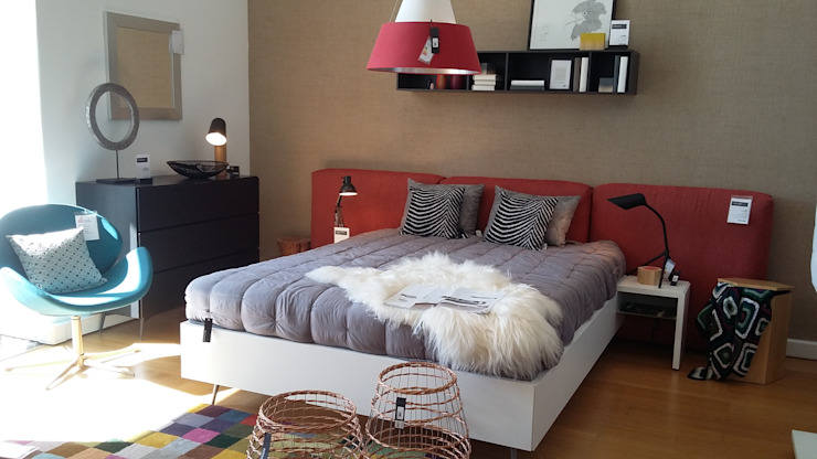 BoConcept Lisboa 臥室床與床頭櫃