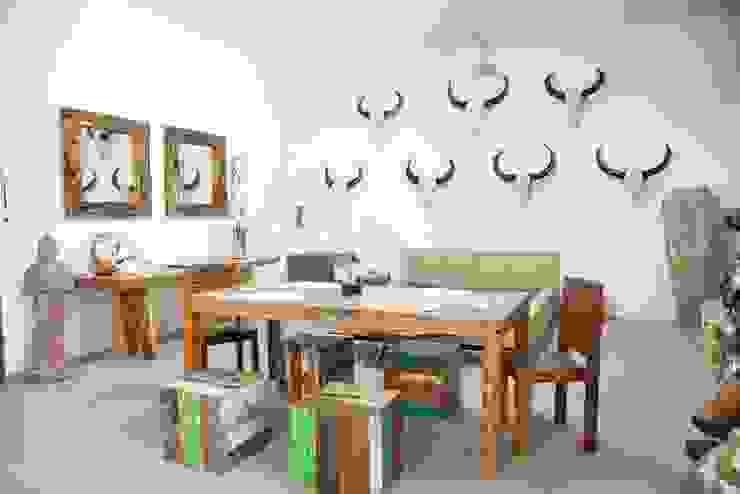 Modern dining room by Jet Lag Interiors Modern