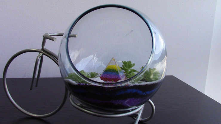 Terrario de Diseños Ideales Para Ti Moderno Vidrio