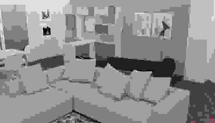 Projeto Sala Salas de estar modernas por Ana Pacheco - BoConcept Interior Designer Moderno
