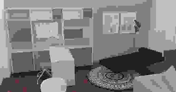 Projeto Sala Salas de estar modernas por AnaPacheco - BoConcept Interior Designer Moderno