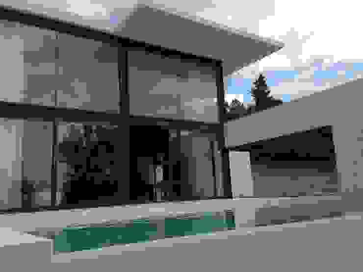 vista exterior Casas de estilo moderno de MODULAR HOME Moderno