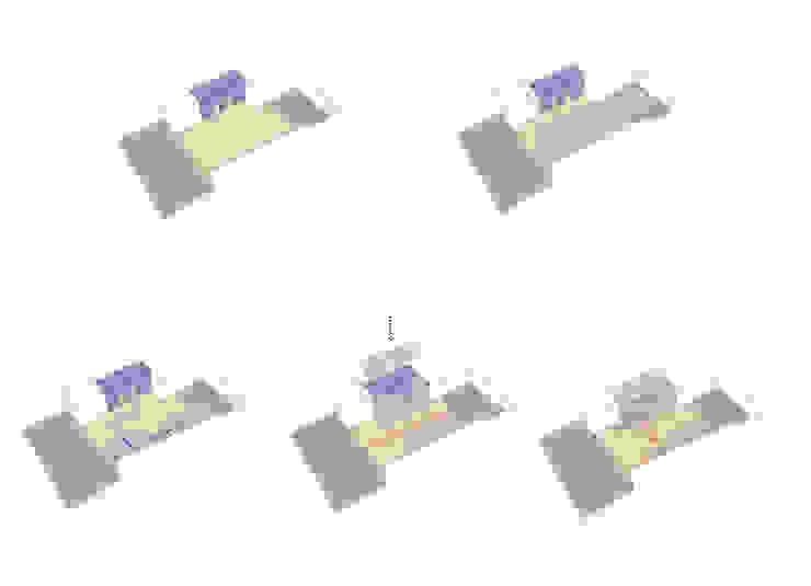 DIAGRAMA DE USOS de ENSAMBLE de Arquitectura Integral Industrial