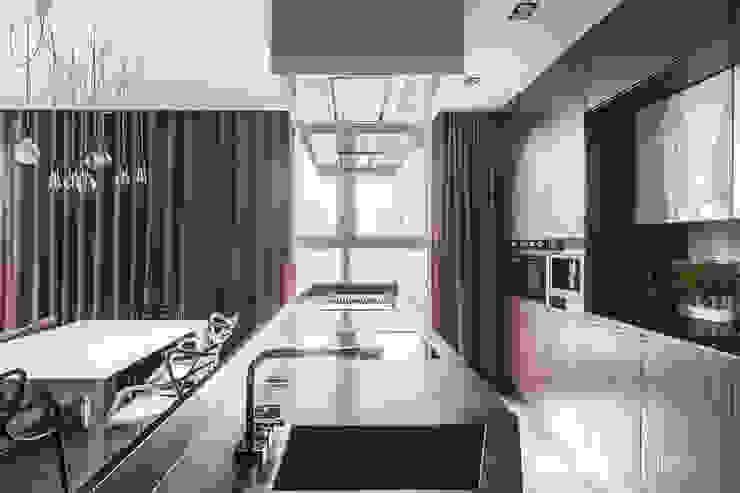 MIESZKANIE - 110m2: styl , w kategorii Kuchnia zaprojektowany przez SQUAT ARCHITEKCI