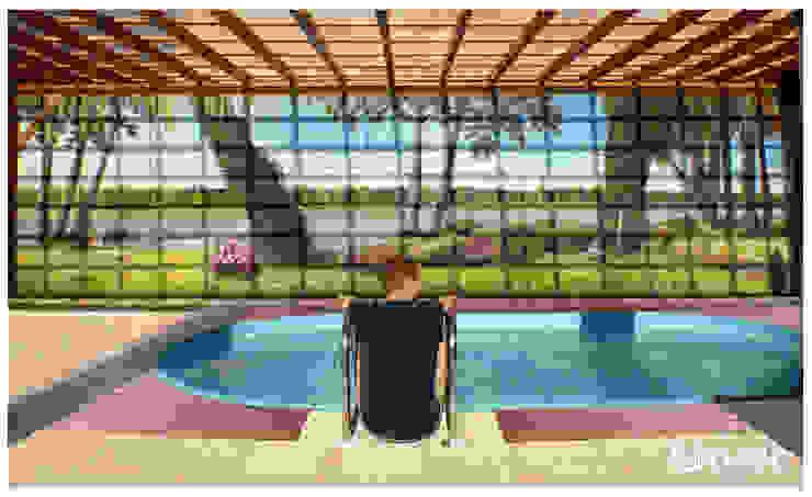 Modern pool by fialkowske design Modern