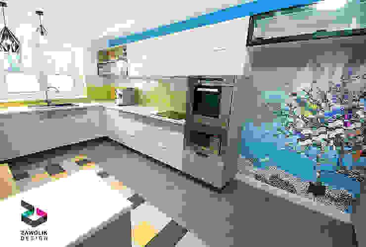 Кухни в . Автор – ZAWOLIK DESIGN