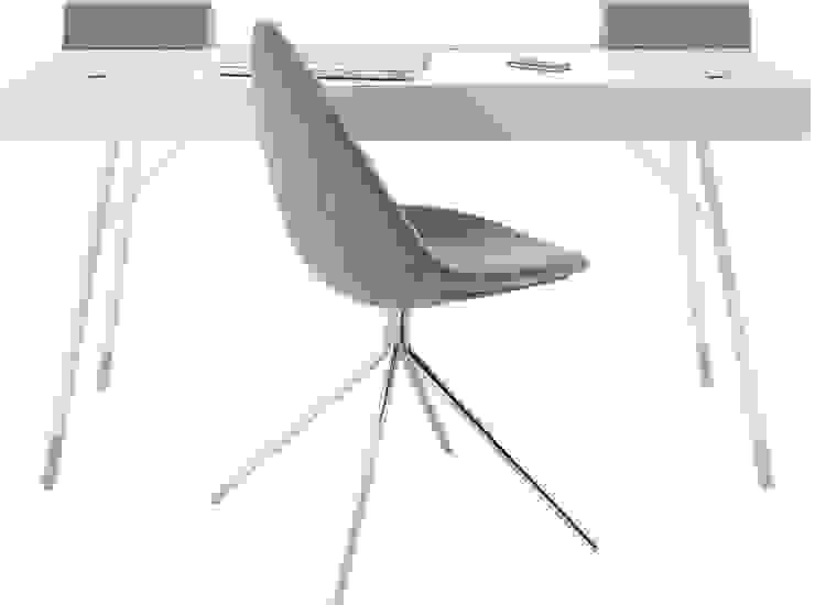 Secretária Cupertino e cadeira Ottawa por BoConcept Lisboa Moderno