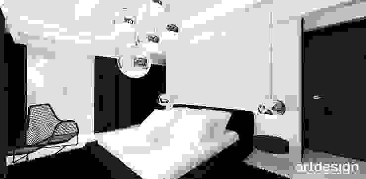 Спальня в стиле минимализм от ARTDESIGN architektura wnętrz Минимализм