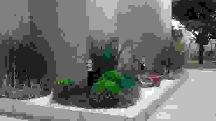 Vườn phong cách hiện đại bởi Borges Arquitetura & Paisagismo Hiện đại