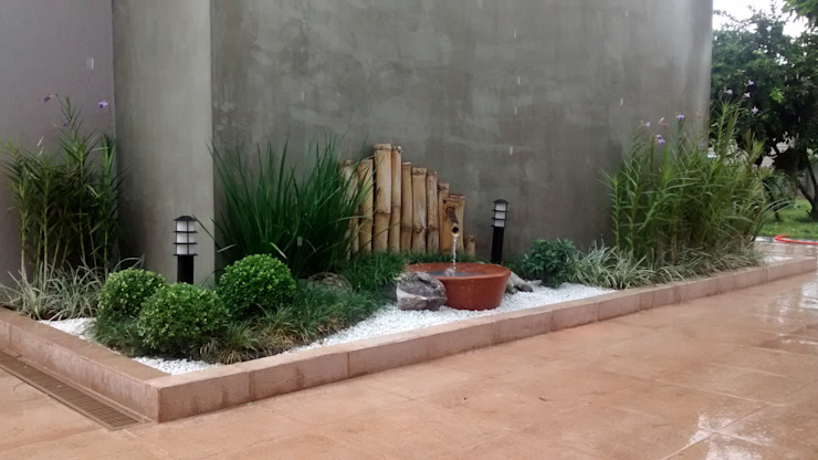 Modern style gardens by Borges Arquitetura & Paisagismo Modern