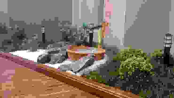 Jardines de estilo  por Borges Arquitetura & Paisagismo,