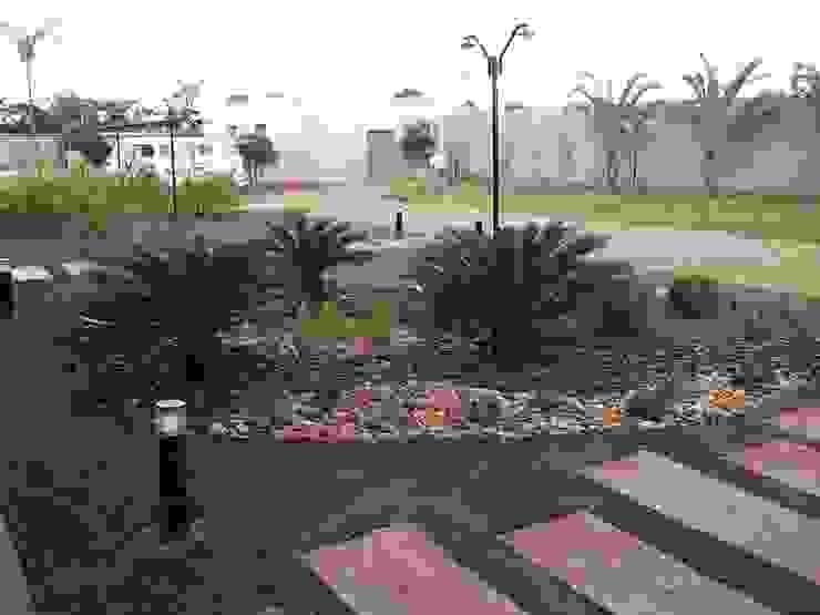 Jardin tropical par Borges Arquitetura & Paisagismo Tropical