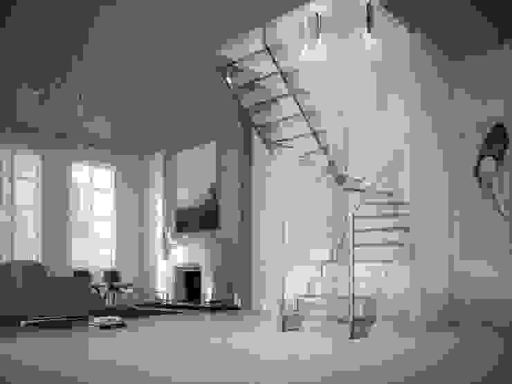Couloir et hall d'entrée de style  par Siller Escaleras, Classique
