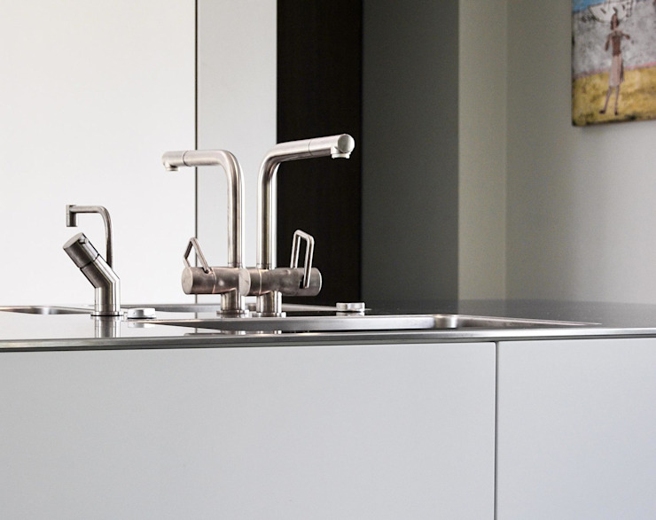 Villa Waalwijk Minimalistische keukens van Ecker Keukens en Interieur Minimalistisch