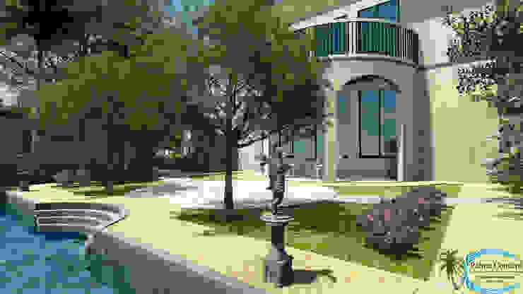 Сад в тропическом стиле от PALMA CONCEPT Тропический