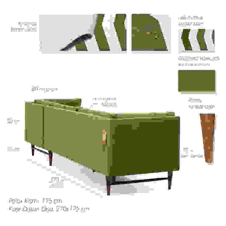 modern  by K105 Mobilya Pazarlama Danışmanlık San.İç ve Dış Tic.LTD.ŞTİ., Modern Wood Wood effect