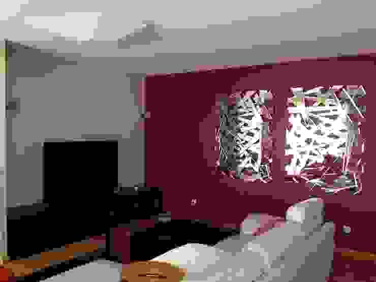 Sala de Estar: Sala de estar  por Favos Comércio de móveis e artigos para decoração lda.