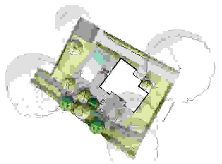 Moderne tuinen van Atelier Aralia Modern
