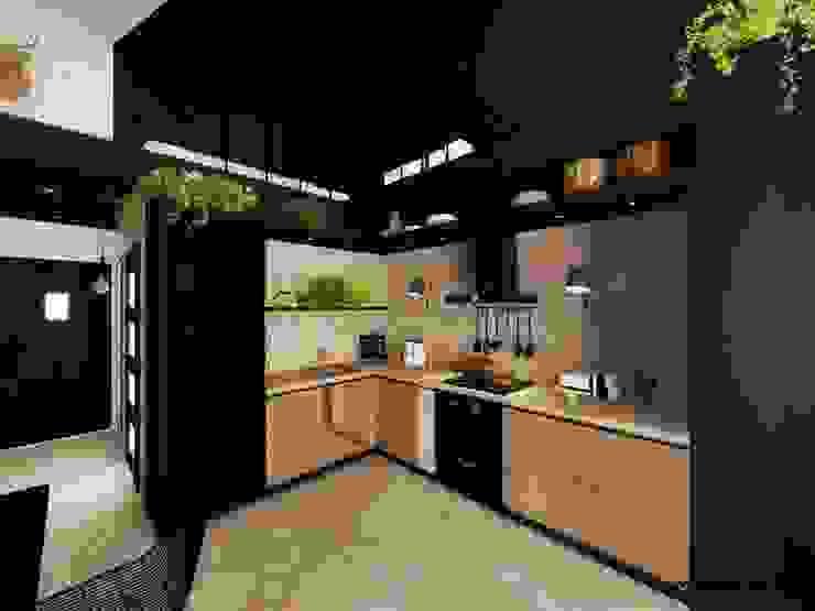 Kitchen by Hanna Szczypińska - Architektura Wnętrz, Industrial