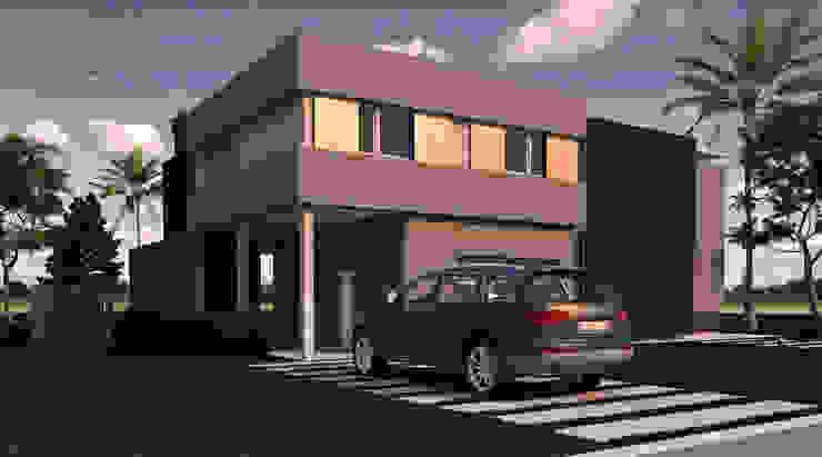 Vivienda L+A Casas minimalistas de Indinaco srl Construcciones y servicios Minimalista