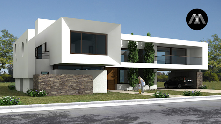 Minimalist houses by JAMStudio Minimalist