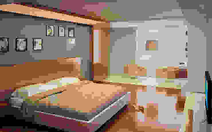Casa PG Dormitorios modernos de BCA Taller de Diseño Moderno