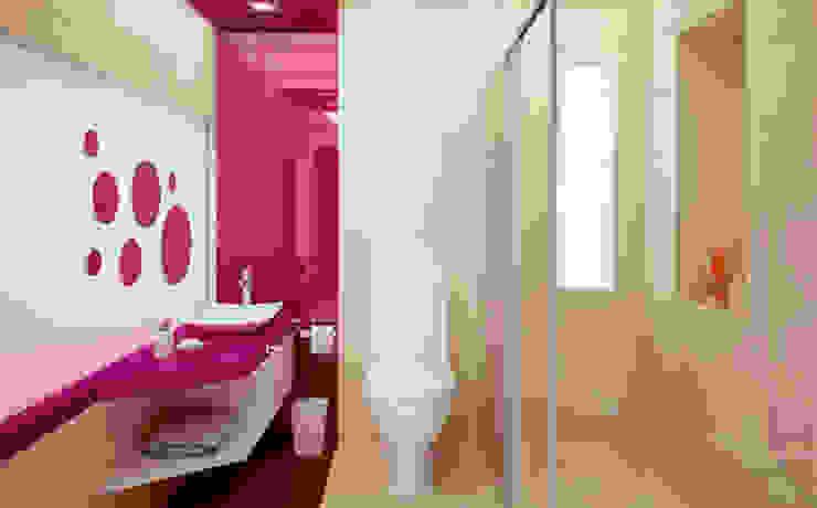 Casa PG Baños modernos de BCA Taller de Diseño Moderno