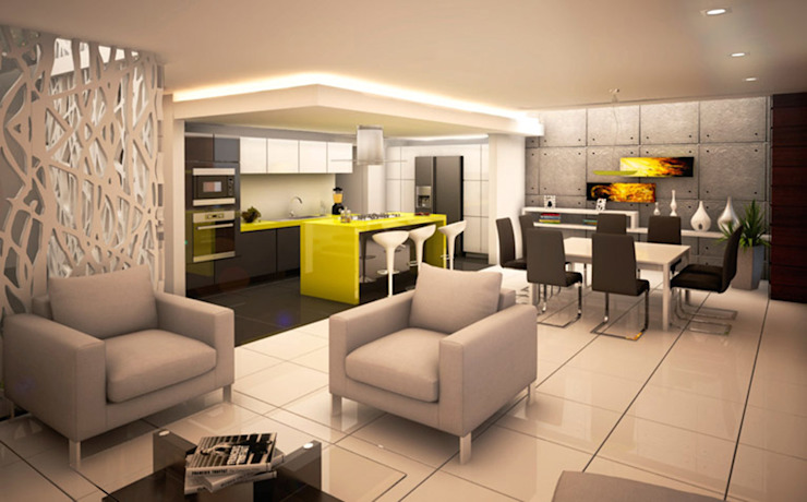 Livings modernos: Ideas, imágenes y decoración de BCA Taller de Diseño Moderno