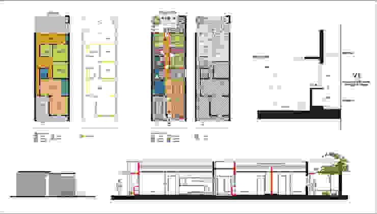 모던스타일 주택 by D&D Arquitectura 모던